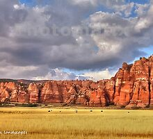 Herd among the arches by Erykah36
