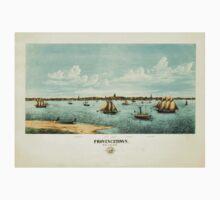 Panoramic Maps Provincetown Kids Tee