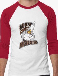 South County Fingerblasters Men's Baseball ¾ T-Shirt