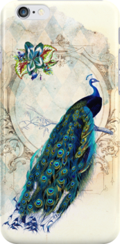 Vintage Peacock Case by curiousfashion