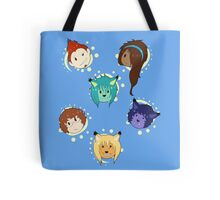 Little Faces Tote Bag