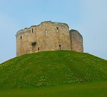 Clifford's Tower in York by Picturfine