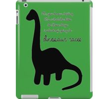 Dinosaur Races iPad Case/Skin
