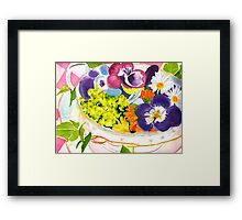 A Cup of Comfort Framed Print