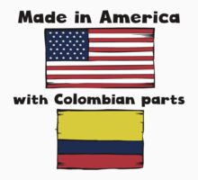 Made In America With Colombian Parts One Piece - Short Sleeve
