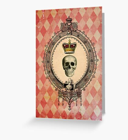 Skull & Crown iPhone Case Greeting Card