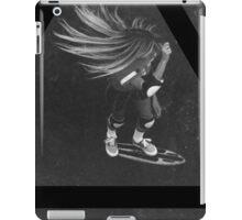 OVERFIFTEEN SKATEBOARD GIRL iPad Case/Skin