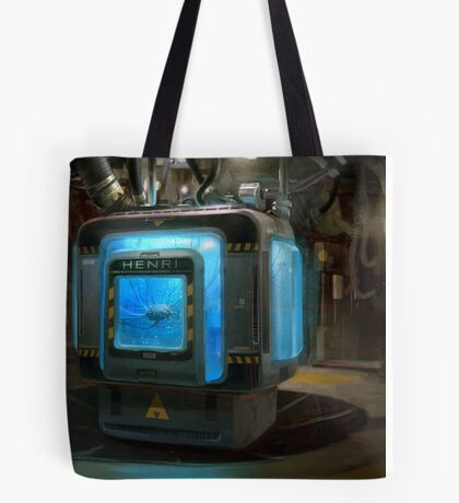 HENRi Brain Machine Tote Bag