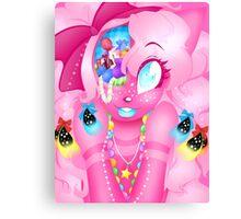 Candy Braiiinnzz Canvas Print