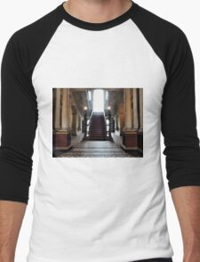 Mansion Staircase Men's Baseball ¾ T-Shirt