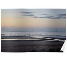 Windfarm Estuary  Poster