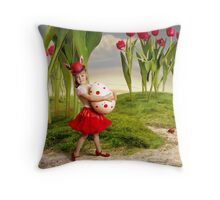 Happy Easter!!! Throw Pillow