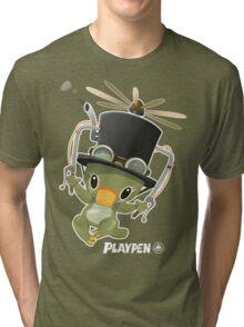 Playpen Platypus Inventor Tri-blend T-Shirt