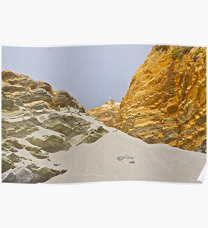 Sandy Sculptures Poster