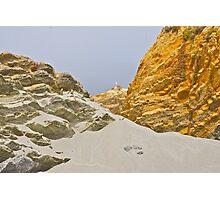 Sandy Sculptures Photographic Print