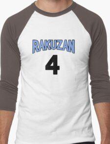 Kuroko No Basket Rakuzan 4 Akashi Jersey Anime Cosplay Japan T Shirt Men's Baseball ¾ T-Shirt