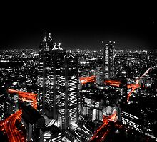 Tokyo at Night by Thiranja, Prasad Babarenda Gamage
