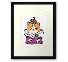 Queen Corgi Framed Print