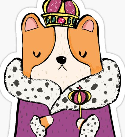 Queen Corgi Sticker