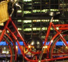 Red Bike Sticker