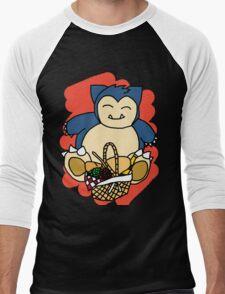 Snorlax Men's Baseball ¾ T-Shirt