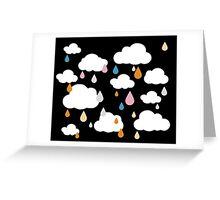 Dark Rainy Day Greeting Card