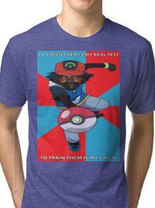 Kony Pokemon Tri-blend T-Shirt