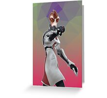 Mass Effect - Mordin Solus Greeting Card