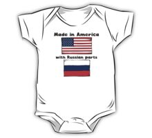 Made In America With Russian Parts One Piece - Short Sleeve