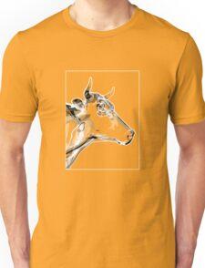 Cow Grey White B Unisex T-Shirt