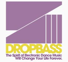 DropBass Logo (Purple/Yellow) by DropBass