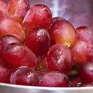 Grapes close up by Magdalena Warmuz-Dent