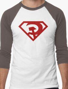Superman- Red Son Men's Baseball ¾ T-Shirt