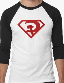 Superman- Red Son Men's Baseball ¾ T-Shirt