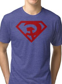 Superman- Red Son Tri-blend T-Shirt