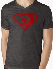 Superman- Red Son Mens V-Neck T-Shirt