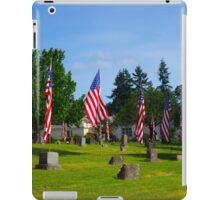 Memorial Rows iPad Case/Skin