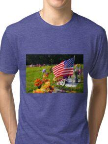 Memorials Tri-blend T-Shirt