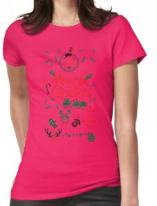 Christmas decoration Womens Fitted T-Shirt