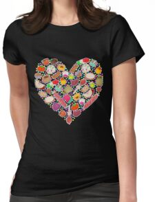 I Love Mexican Candy - khaki Womens Fitted T-Shirt