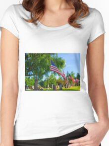 Monuments Women's Fitted Scoop T-Shirt
