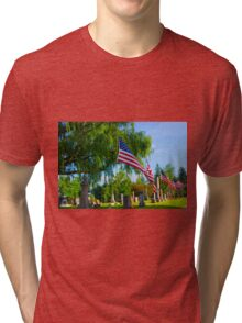 Monuments Tri-blend T-Shirt
