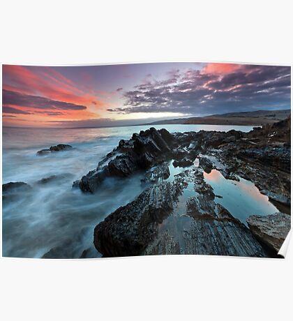 Myponga Beach Sunrise Poster