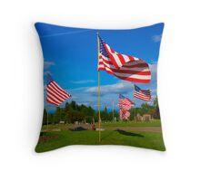Patriot Blue Throw Pillow