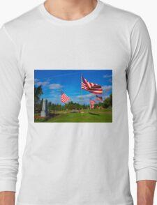 Patriot Blue Long Sleeve T-Shirt