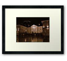Custom House at night, Belfast Framed Print