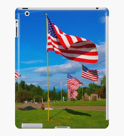 Patriot Blue iPad Case/Skin
