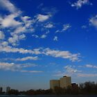 Riverside Sky by qbasicer