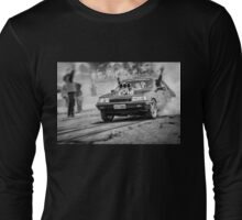SKIDMA Burnout Long Sleeve T-Shirt