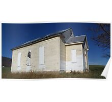 Old Abandond Church Panoramic Poster